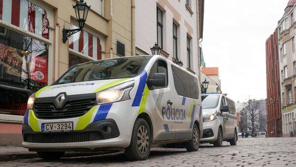 Автомобили полиции в Риге - Sputnik Латвия
