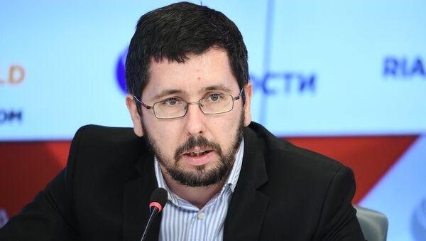 Председатель правления Фонда поддержки и развития еврейской культуры, традиций, образования и науки Михаил Чернов - Sputnik Латвия