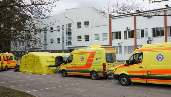 В Латвийском центре инфектологии развернута мобильная лаборатория для сдачи анализов на коронавирус - Sputnik Латвия