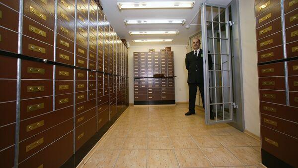 В хранилище банка - Sputnik Латвия