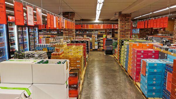 Алкогольный магазин-склад в Валке - Sputnik Latvija