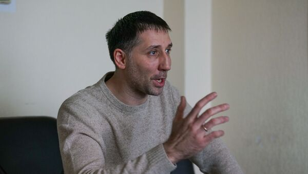Валентин Еремеев - один из лидеров общественной организации Фронт народной власти - Sputnik Латвия