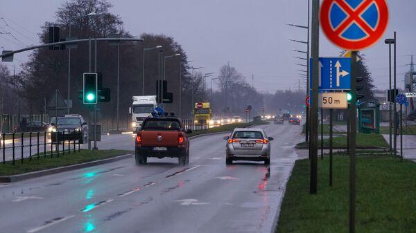 Дорога в Лиепае - Sputnik Латвия
