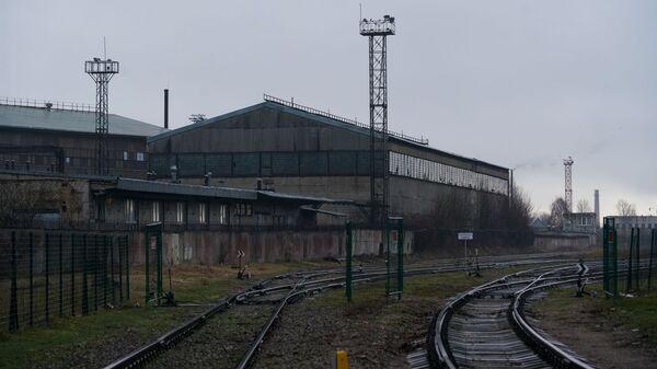 Железная дорога и склад в Лиепае - Sputnik Latvija
