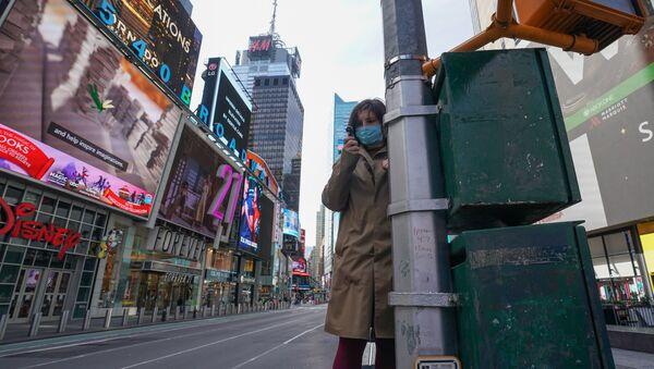 В Нью-Йорке введён режим ЧС в связи с коронавирусом - Sputnik Latvija