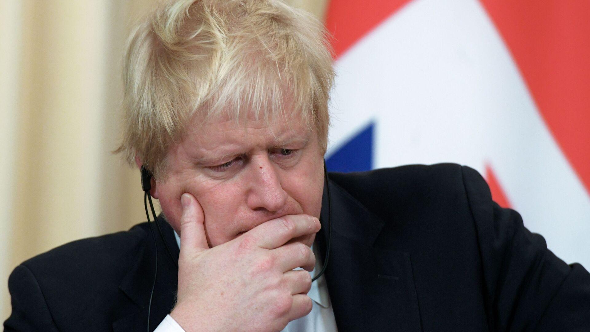 Премьер-министр Великобритании Борис Джонсон - Sputnik Латвия, 1920, 12.10.2021