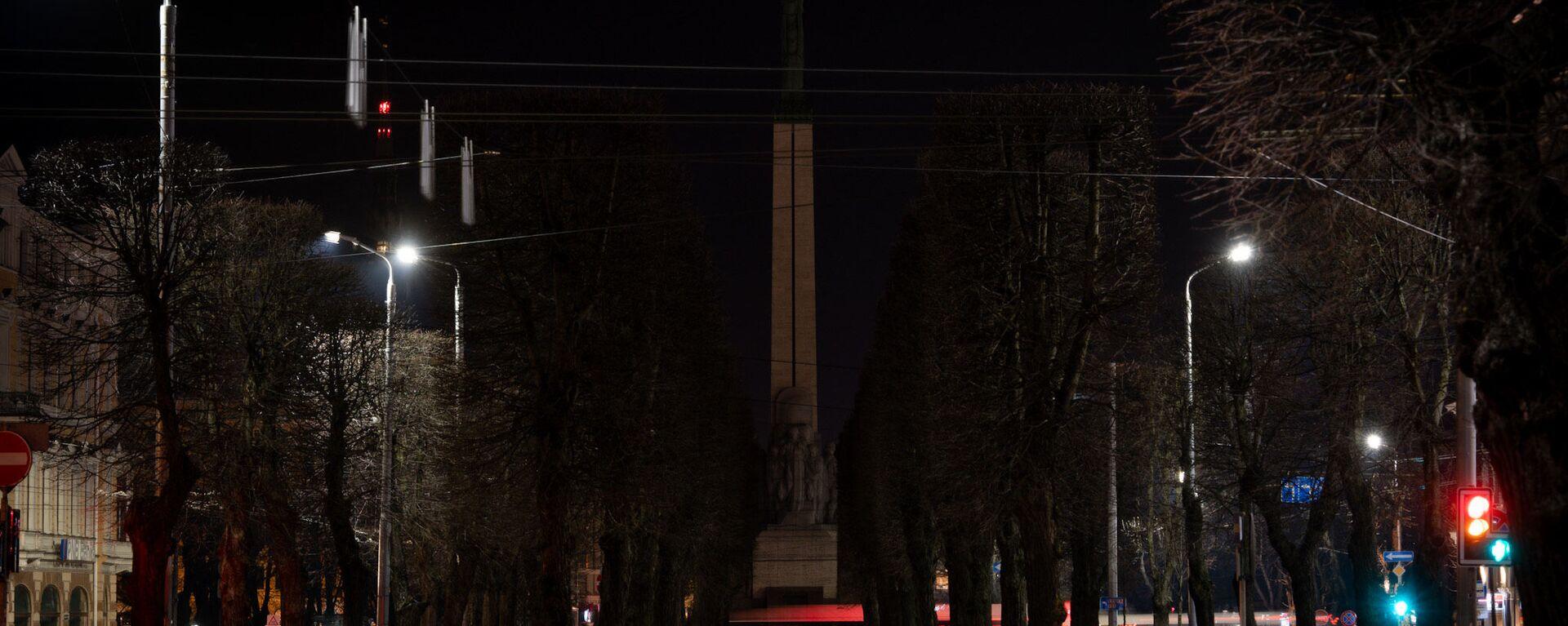 Рига присоединилась к всемирной экологической акции Час Земли - Sputnik Латвия, 1920, 29.03.2020
