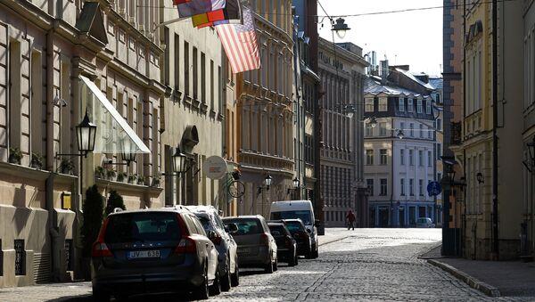 Пустая улица в Старой Риге - Sputnik Latvija