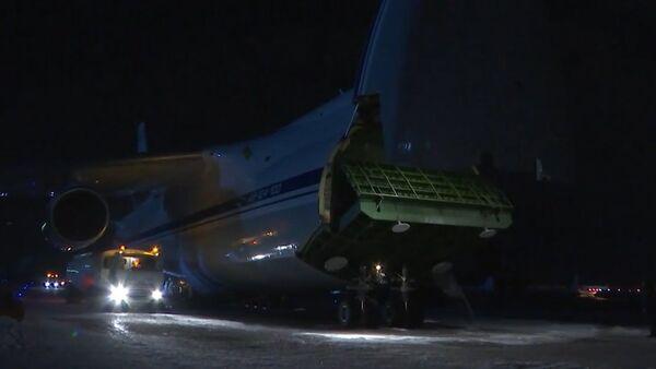Krievija nosūtīja uz ASV lidmašīnu ar humāno palīdzību - Sputnik Latvija