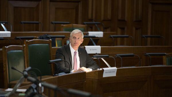 Премьер-министр Кришьянис Кариньш  - Sputnik Latvija