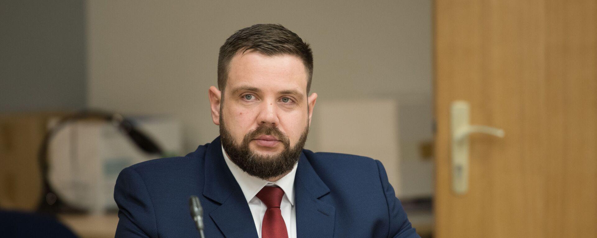 Министр экономики Янис Витенбергс - Sputnik Латвия, 1920, 08.07.2020