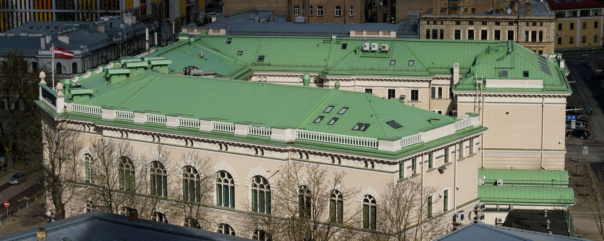Здание Банка Латвии - Sputnik Латвия, 1920, 09.07.2020