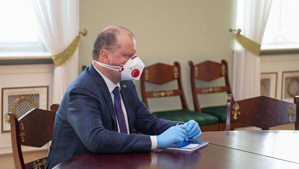Премьер-министр Литвы Саулюс Сквернялис - Sputnik Латвия