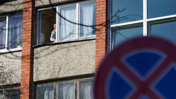 В поселке Улброка под Ригой целый дом поместили под карантин - Sputnik Latvija