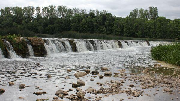Водопад Вентас-Румба в Кулдиге, Латвия - Sputnik Латвия