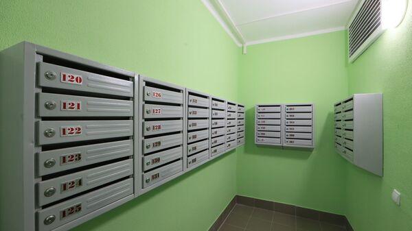 Почтовые ящики в подъезде - Sputnik Латвия