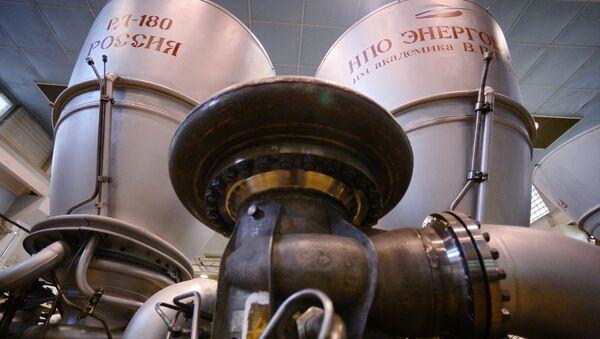 Ракетный двигатель РД-180  - Sputnik Latvija
