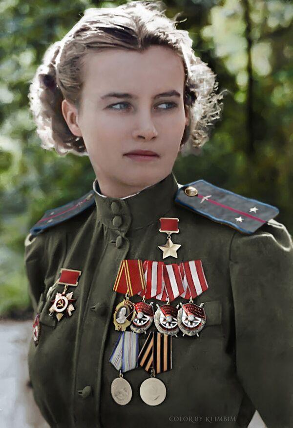 Советская летчица Наталья Меклин. - Sputnik Латвия