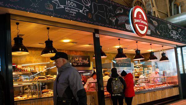 Центральный рынок в Риге - Sputnik Latvija