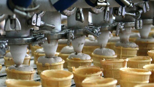 Предприятие по выпуску мороженого - Sputnik Латвия