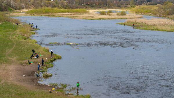 Река Вента протекает через Кулдигу. - Sputnik Latvija