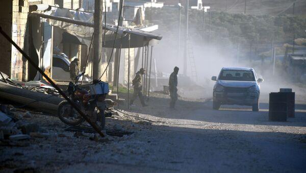 Ситуация в населенном пункте ад-Дейр аш-Шаркий в Сирии - Sputnik Latvija