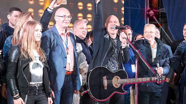 Фото с концерта «Дорога на Ялту», прошедшего в 2019 году - Sputnik Латвия