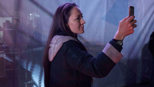 Режиссер Полина Бертэн на фестивале «Дорога на Ялту» в 2019 году - Sputnik Латвия