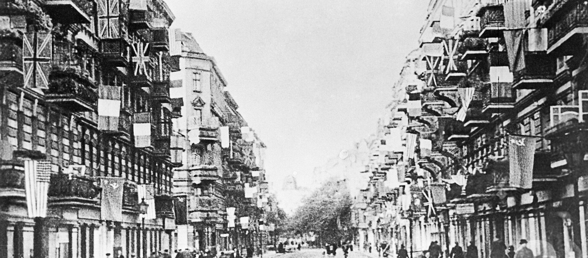 No fašistiem atbrīvotā Berlīne - Sputnik Latvija, 1920, 04.05.2020