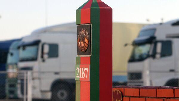 Белорусская граница, архивное фото - Sputnik Латвия