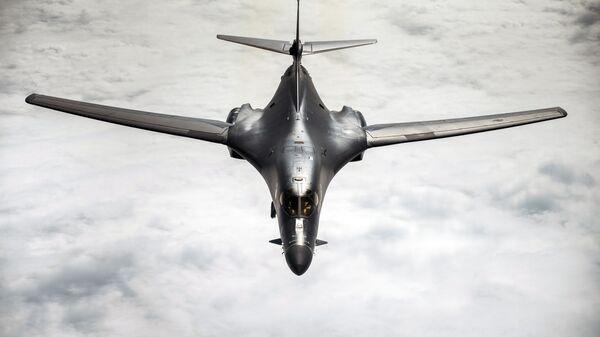 Бомбардировщик B-1 Lancer ВВС США - Sputnik Латвия
