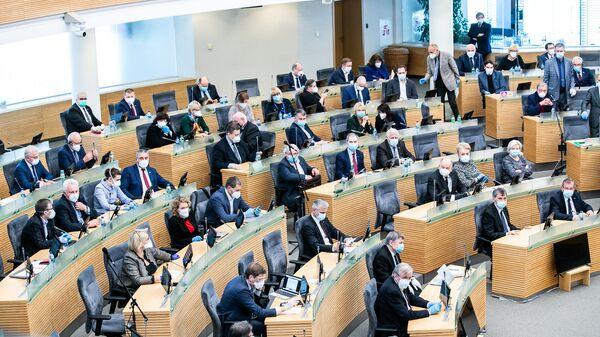 Заседание Сейма Литвы - Sputnik Латвия