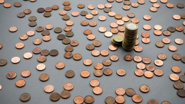 Монеты евро - Sputnik Латвия