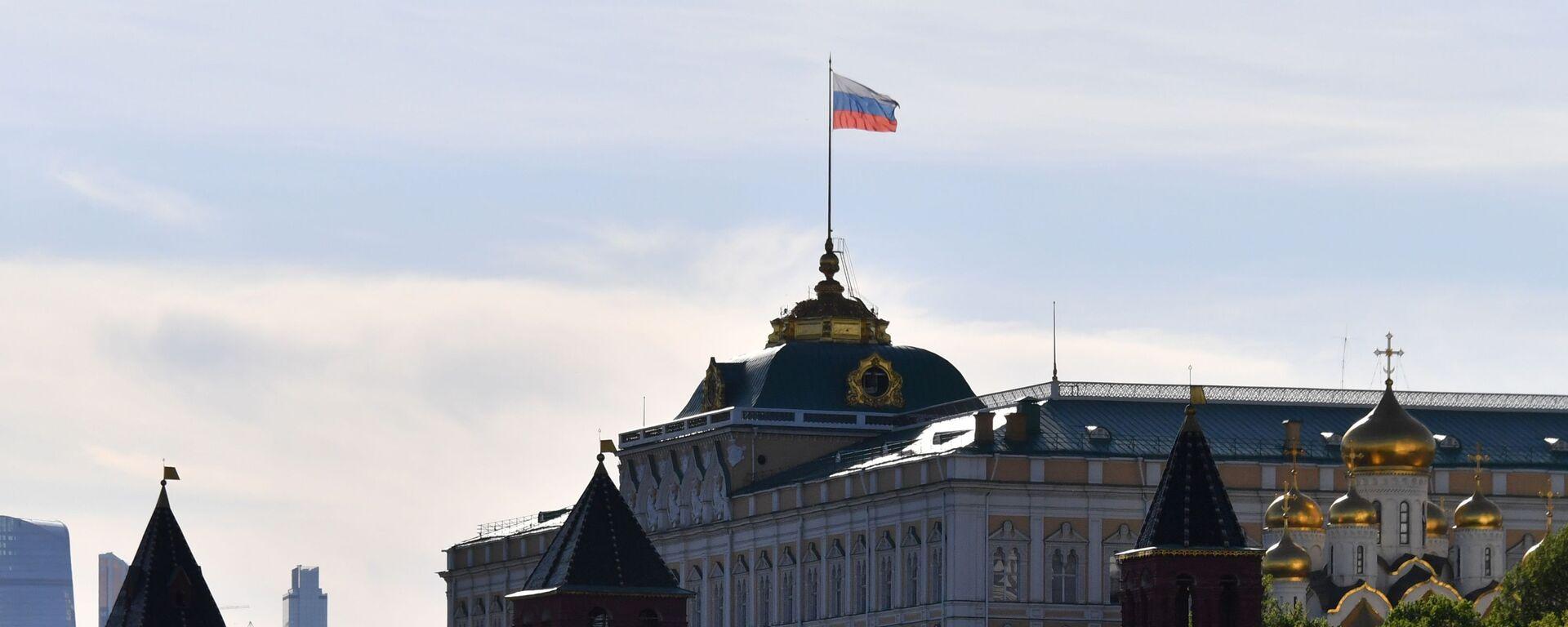 Большой Кремлевский дворец на территории Московского Кремля - Sputnik Латвия, 1920, 23.05.2021