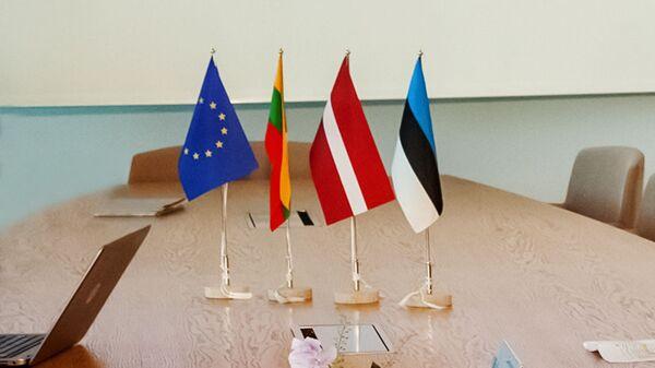 Флажки стран Балтии, архивное фото - Sputnik Латвия