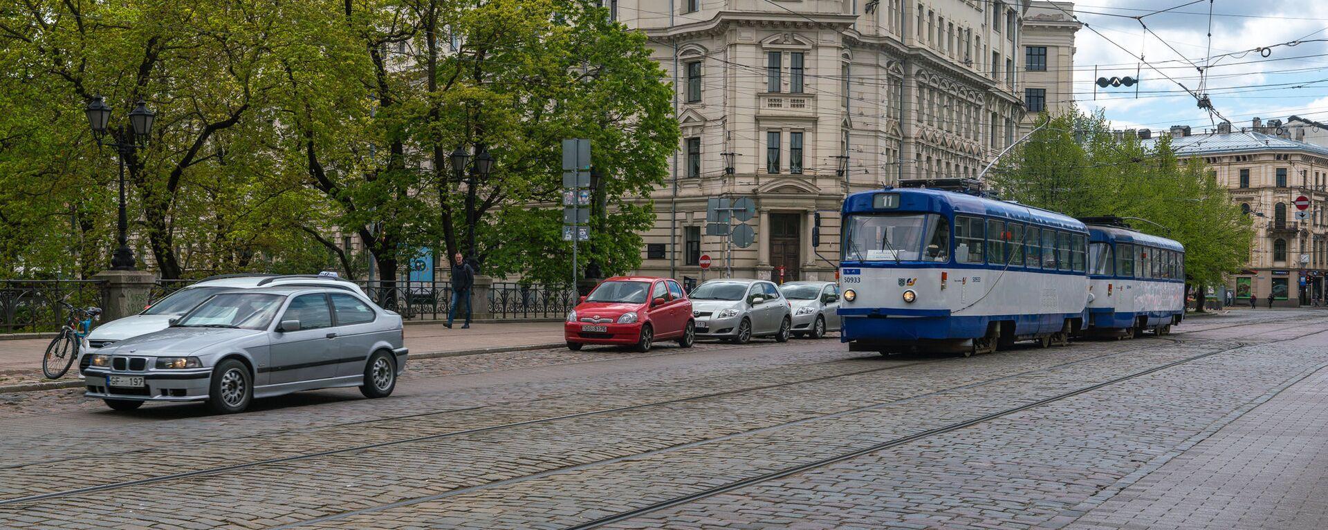 Улица Кришьяня Барона - Sputnik Латвия, 1920, 06.07.2021