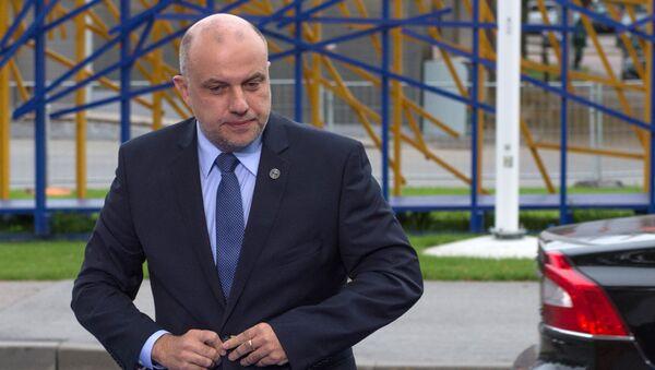 Министр обороны Эстонии Юри Луйк. Архивное фото - Sputnik Latvija