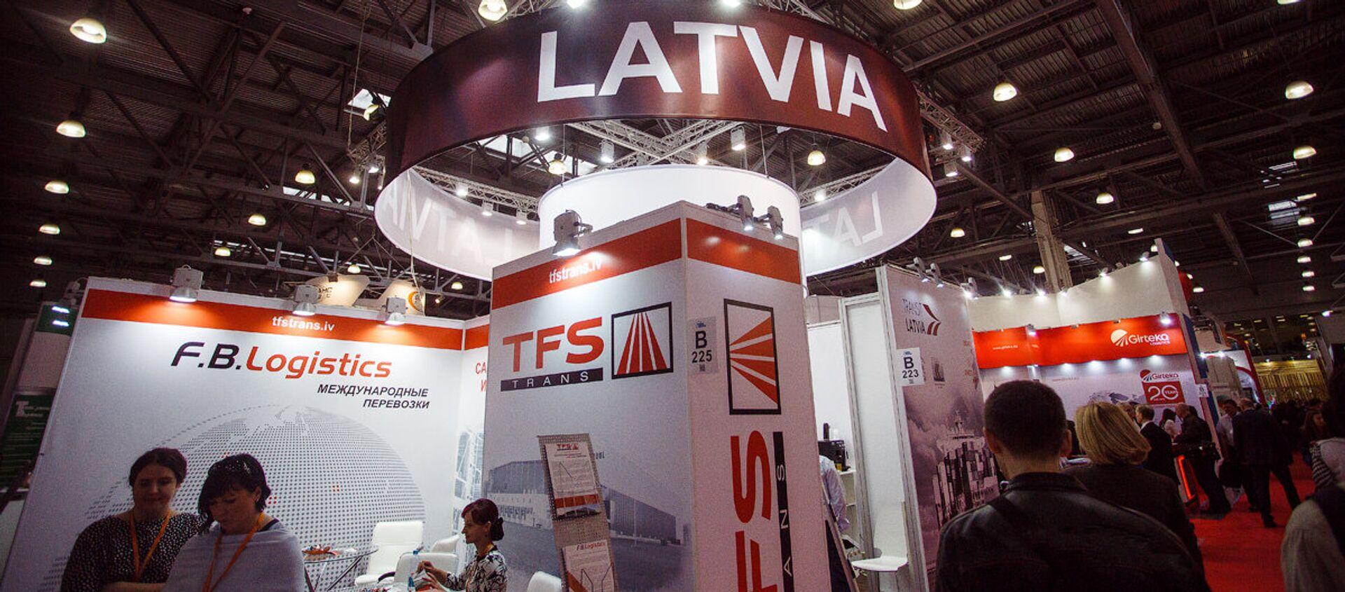 Международная выставка транспортно-логистических услуг «ТрансРоссия» - Sputnik Латвия, 1920, 12.04.2021