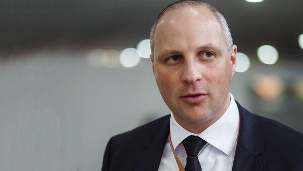 Госсекретарь Министерства сообщения Латвии Каспарс Озолиньш - Sputnik Latvija