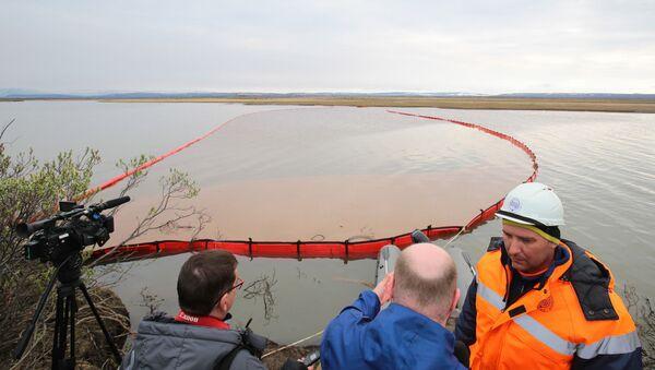 Разлив топлива в Норильске - Sputnik Латвия