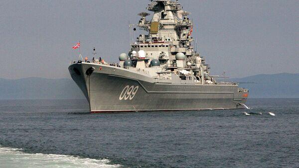 Совместный выход в море кораблей разных флотов в Приморье - Sputnik Latvija
