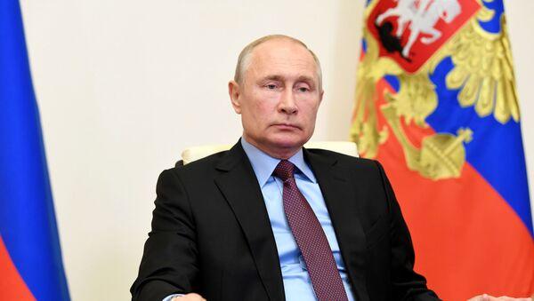 Президент РФ В. Путин провел заседание Совбеза РФ - Sputnik Латвия