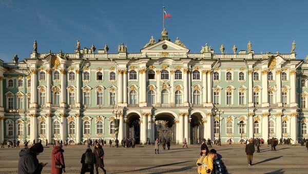 Иностранные туристы в России - Sputnik Латвия
