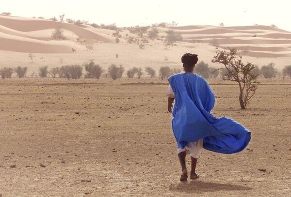 Пустыня Ассаба в Мавритании с движущимися дюнами - Sputnik Латвия