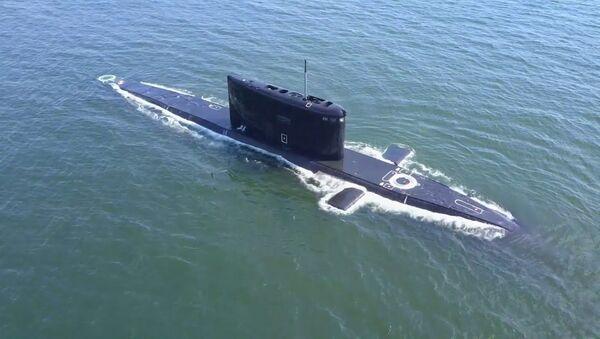 Спасение аварийной подлодки: учения моряков Балтийского флота в Калининградской области - Sputnik Latvija