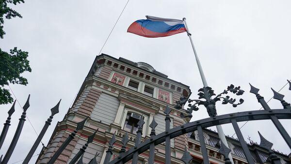 Здание посольства России в Риге - Sputnik Latvija
