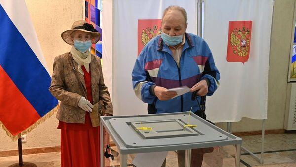 Balsojums par grozījumiem Krievijas Konstitūcijā: kā tas notika tuvo ārzemju valstīs - Sputnik Latvija