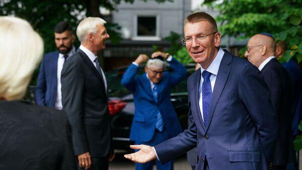 Министр иностранных дел Латвии Эдгар Ринкевич - Sputnik Latvija
