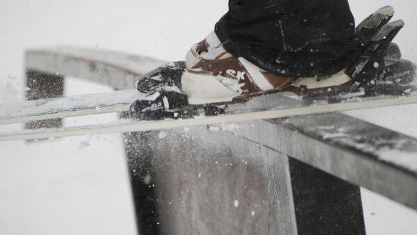 Ziemas sporta veidi, slēpošana - Sputnik Latvija