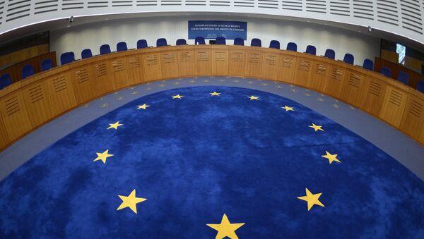 Зал заседаний Европейского суда по правам человека в Страсбурге - Sputnik Латвия